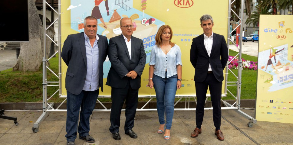 Kia Canarias, protagonista del evento del verano: Cine+Food by KIA