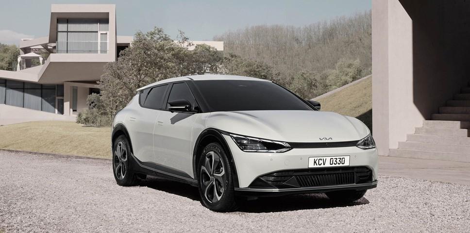 EV6: Emblema de la nueva filosofía de diseño de Kia