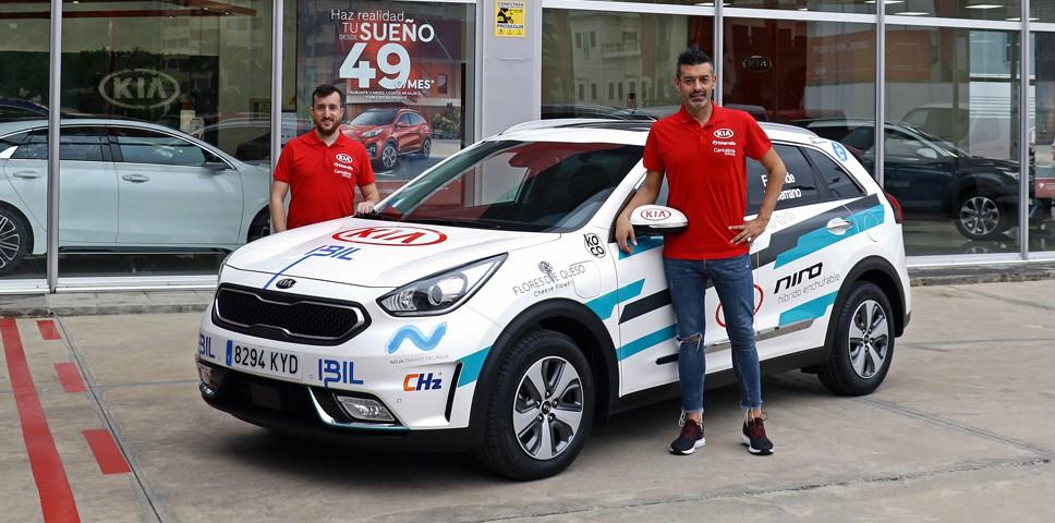KIA Canarias y Eneko Conde-Loren Serrano, juntos en el Eco-Rally Gran Canaria