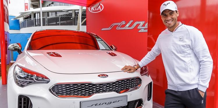Kia Motors y Rafa Nadal, protagonistas un año más del Open de Australia de tenis 2017