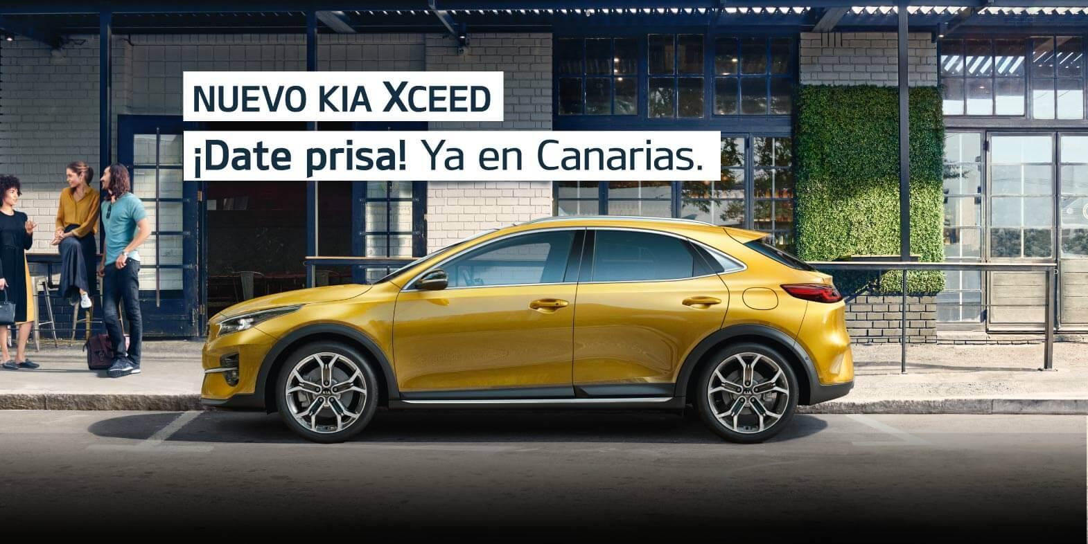 Nuevo Kia XCeed. Ya en Canarias.
