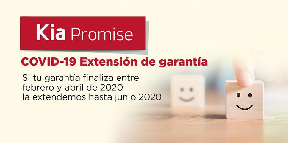 COVID-19: Extension de garantía