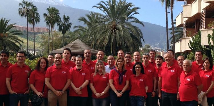 Gran optimismo en la convención anual de Kia Canarias