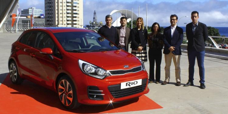Kia Canarias presentó en el Recinto Ferial de Tenerife el Rio 'Facelift'