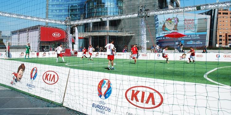 Kia, patrocinador oficial de la UEFA Euro por tercera vez