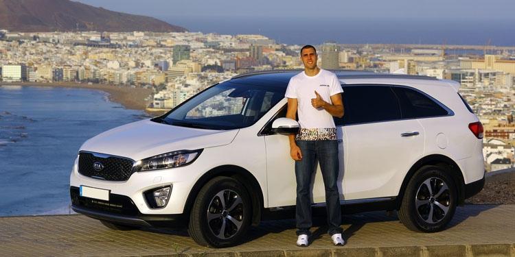 Pablo Aguilar, jugador de la Selección Española de Baloncesto, nuevo embajador de Kia Canarias